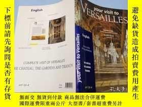 二手書博民逛書店英文原版16開彩色書籍:Your罕見Visit to Versa