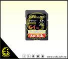 ES數位 SanDisk Extreme Pro SD SDXC 64G V30 633x 95M 95MB/s U3 高速 記憶卡 64GB 群光公司貨