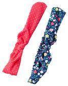 2件蝴蝶結髮帶組: 紅藍蝴蝶結: GB16227