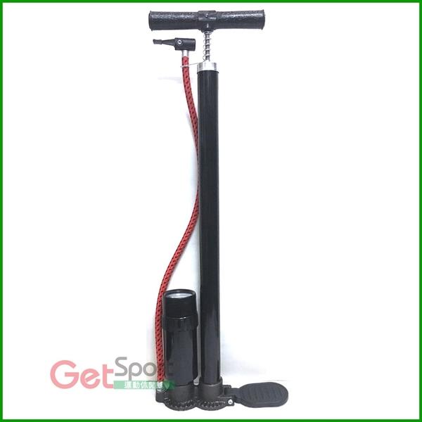 成功牌高壓打氣筒(附氣壓表)(直立式/充氣筒/胎壓/自行車胎/球充氣/補氣)