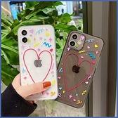 蘋果 IPhone12 Pro Max 12Pro 12Mini 11 Pro Max XR XS MAX iX i8+ i7+ SE 派對愛心 手機殼 全包邊 保護殼