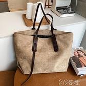 手提包 大容量高級感包包新款潮時尚手提女包單肩百搭ins托特包 快速出貨