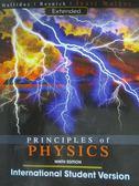 【書寶二手書T1/大學理工醫_YHC】Principles of Physics Extended_9/e_David Halliday; Robert Resnick