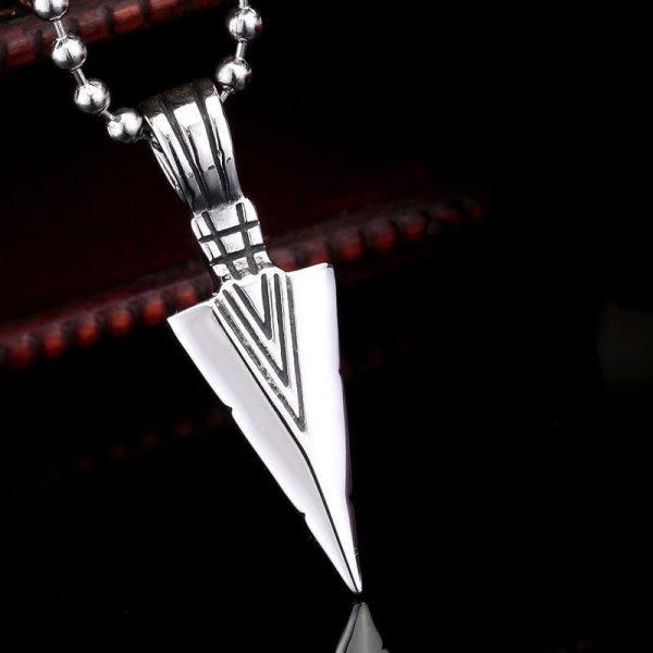 EDJ銀飾店-法老之矛鈦鋼吊墜【不附配鍊】(7823)
