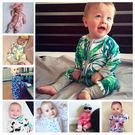 爆款純棉寶寶連身衣包屁衣嬰兒服装哈衣新生兒爬服- 預購