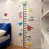 身高贴 卡通超級飛俠3d立體墻貼寶寶測量身高貼可移除貼紙兒童房墻面裝飾 布衣潮人YJT