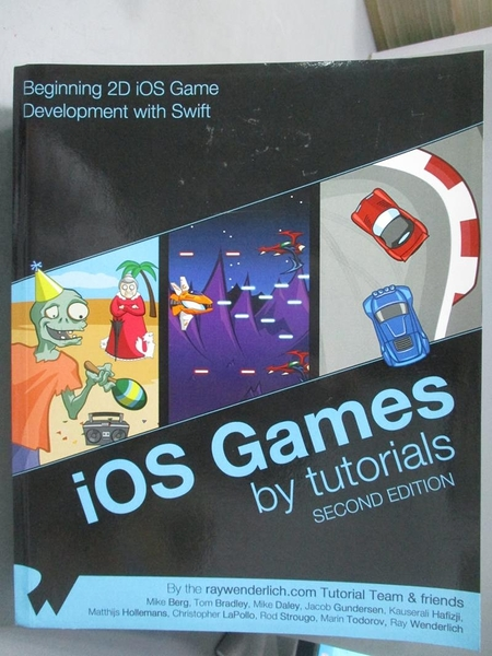 【書寶二手書T9/電腦_PJM】IOS Games by Tutorials: Second Edition_Ray W