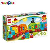 玩具反斗城  樂高  LEGO 樂高 10847 duplo得寶幼兒系列 數字火車