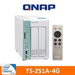 【綠蔭-免運】QNAP TS-251A-4G 網路儲存伺服器