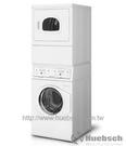 Huebsch 優必洗 YTEE5A/YTEE5ASP(電力型) 12KG/15KG 上烘乾下洗衣機※熱線07-7428010