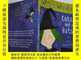 二手書博民逛書店witch罕見wendy cats and hats 巫婆溫迪貓和帽子...Y200392