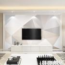 北歐風格幾何墻紙現代簡約客廳電視背景墻壁紙影視墻壁畫墻布大氣 自由角落