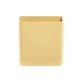 HOLA 鐵製烤漆掛式筆筒-黃