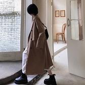 風衣 風衣外套女裝小個子春韓版2021新款中長款氣質長袖寬鬆西裝大衣【快速出貨八折下殺】