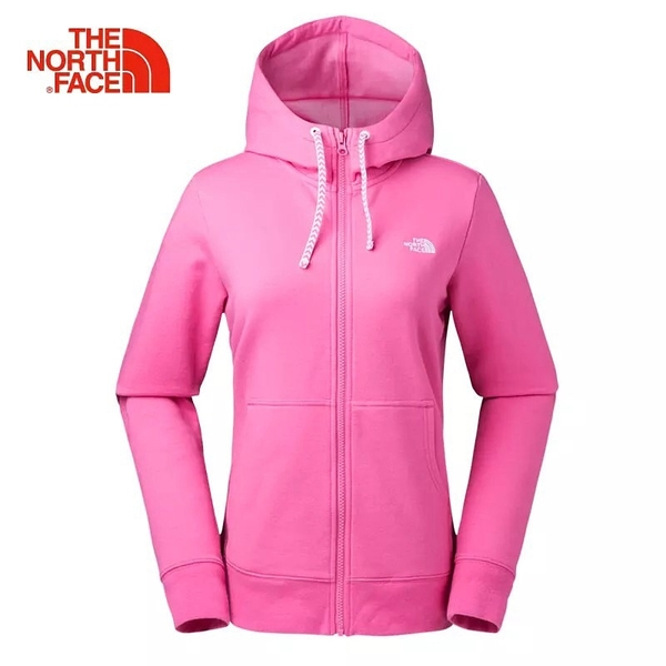 The North Face 女 棉質連帽外套 粉紅 NF0A2XUON5Q【GO WILD】
