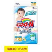 GOO.N 日本大王境內版-紙尿褲M(64片x4包)