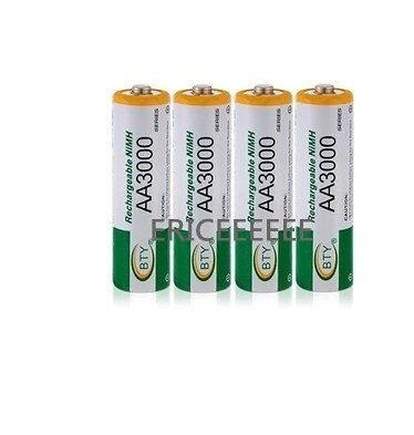 BTY 充電電池 3號充電電池 鎳氫 AAA 3000/4000/5000/30000/10000/5200mah