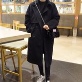 Qmigirl 斗篷式寬鬆羊毛呢子大衣外套 上衣 【WT2091】