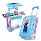 ◆ 人氣滿分超可愛冰雪奇緣廚房旅行箱  ◆ 帶著四處玩超方便