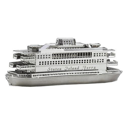 ★funbox玩具★METALLIC NANO PUZZLE 金屬微型模型拼圖 07 史泰登島渡輪 NO21907