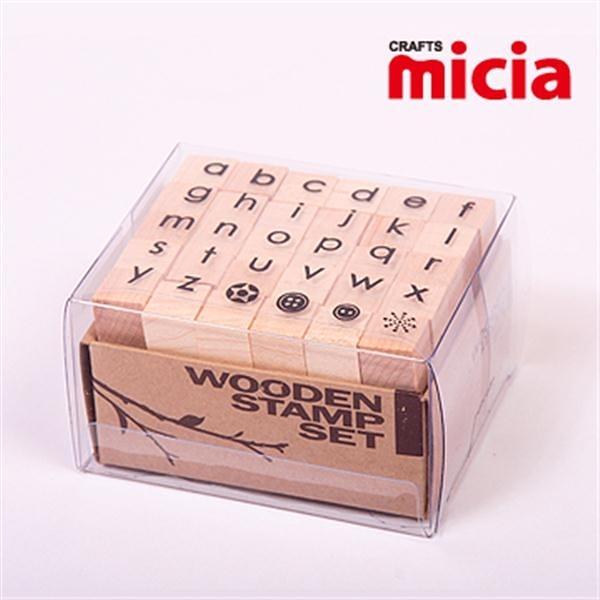 美日Micia/ALP16英文字母印章組(30入)