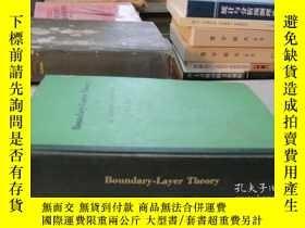 二手書博民逛書店Boundary-Layer罕見THeory(邊界層理論)(16