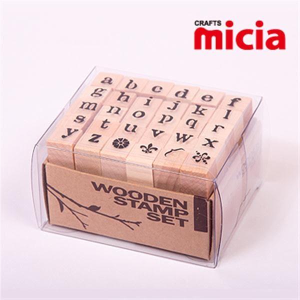 美日Micia/ALP14英文字母印章組(30入)