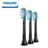 HX9043/32 【Philips 飛利浦】智能清潔刷頭三入組(黑)
