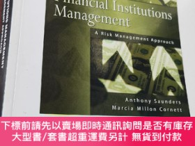 二手書博民逛書店Financial罕見Institutions Managent:A Risk Management Approa