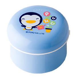 藍色企鵝 PUKU 粉撲粉撲盒+兔毛粉撲