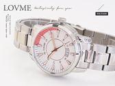 【完全計時】手錶館│LOVME蕭敬騰 色彩拼接 品味自我高質感時尚都會腕錶 S0853SM-2S-221 玫瑰金