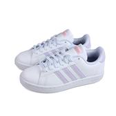 adidas GRAND COURT 網球鞋 運動鞋 白/粉紫 女鞋 FX3446 no843