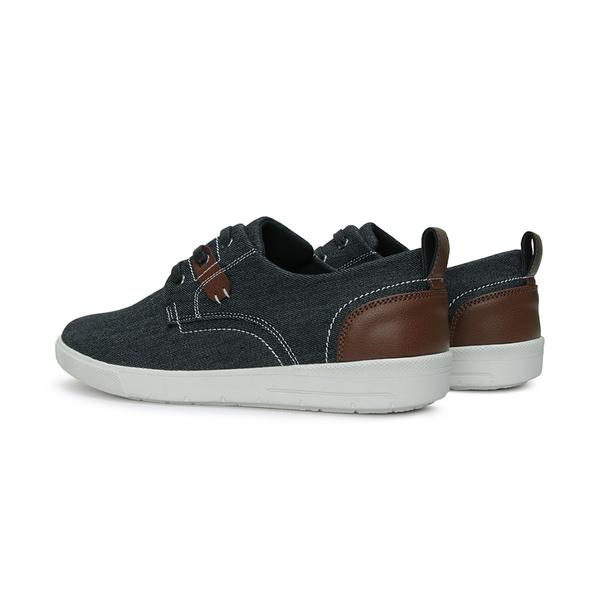 【富發牌】美式西部牛仔休閒鞋-黑/深藍  2CU31