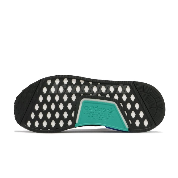 【海外限定】adidas 休閒鞋 NMD_R1.V2 黑 綠 藍 Boost 男鞋 女鞋 愛迪達 【ACS】 FY5922
