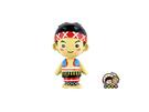 【收藏天地】熱賣商品*台灣原住民兩段式冰箱貼-阿美族男孩