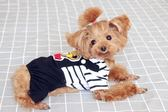 夏季薄款狗狗衣服 寵物衣服泰迪衣服比熊貴賓雪納瑞四腳衣 【店慶八八折】