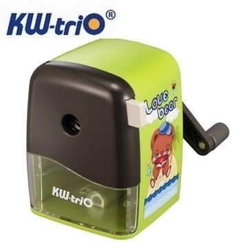 KW 大小通用 030WB 削鉛筆機 削筆機 (卡通圖案、顏色隨機出貨) / 台