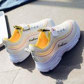 女童鞋子運動鞋2018新款休閒鞋兒童鞋男童女童鞋透氣網鞋童鞋 莫妮卡小屋