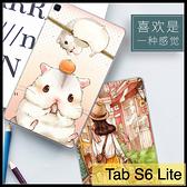 【萌萌噠】三星 2020年 Tab S6 Lite (10.4吋) P610/P615 可愛卡通動漫小新 鋼鐵俠 全包防摔軟殼 平板殼