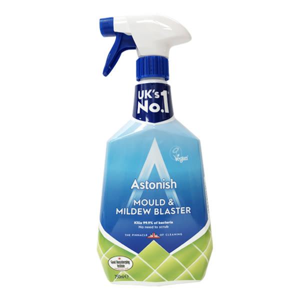 英國 Astonish 去除霉菌(黴菌)去汙清潔劑 英國製 Mould & Mildew Blaster(全新包裝開始出貨)