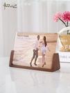 歐式木質相框擺台七寸創意八6六7寸壓克力8照片像框 【全館免運】