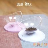 寵物單碗貓碗貓食盆水碗可調節保護頸椎貓咪食盆【倪醬小舖】