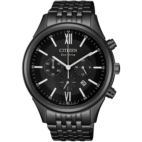 CITIZEN星辰沈穩時尚光動能腕錶  CA4415-81E