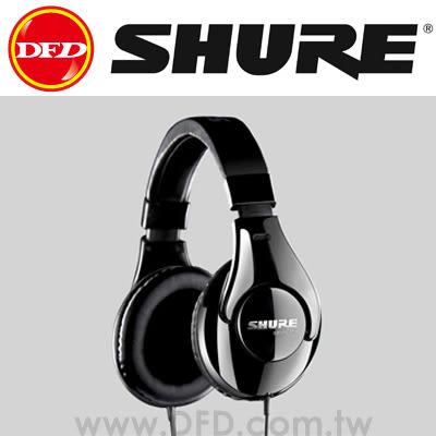 美國 舒爾 SHURE SRH240A 耳罩式耳機 專業監聽 降低背景噪音 黑色 公司貨