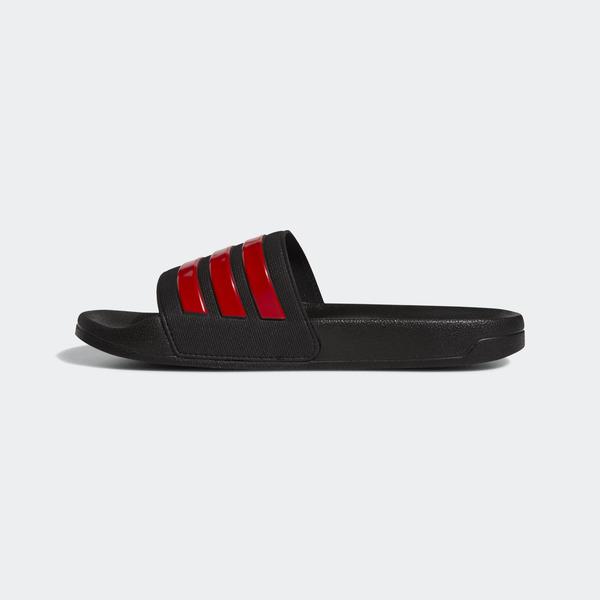 Adidas Adilette Shower [EG1884] 男女鞋 運動 涼鞋 拖鞋 休閒 舒適 輕量 愛迪達 黑紅