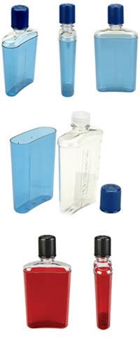 [好也戶外] nalgene FLASK 攜帶型酒壺/藍色/紅色 No.2181-0007 No.2181-0008