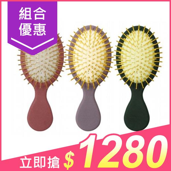 Pingo 品工 Qmini口袋黃金梳(3支入) 組合款【小三美日】