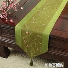田園布藝餐桌布桌旗現代簡約茶幾桌布桌墊鞋柜電視柜長方形蓋布 茱莉亞