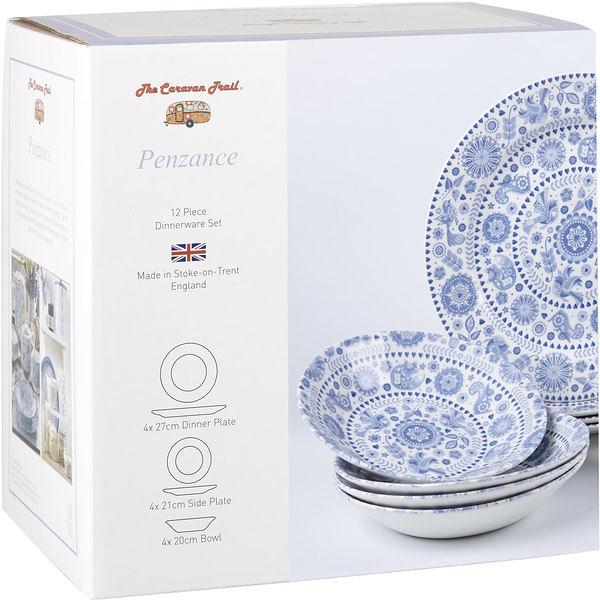 英國Churchill彭贊斯12件碗盤餐具組