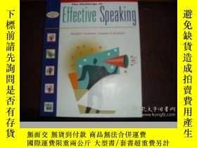 二手書博民逛書店Challenge罕見Of Effective Speaking